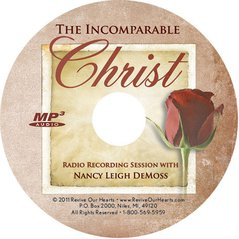 The Incomparable Christ (MP3CD)
