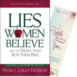 Lies Women Believe book & Truth Bookmark