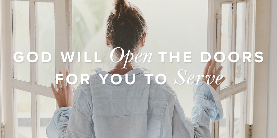 Open Church Doors god will open the doors for you to serve | true woman blog
