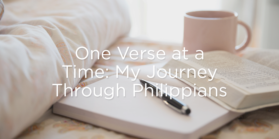 Thumbnail of One Verse at a Time: My Journey Through Philippians