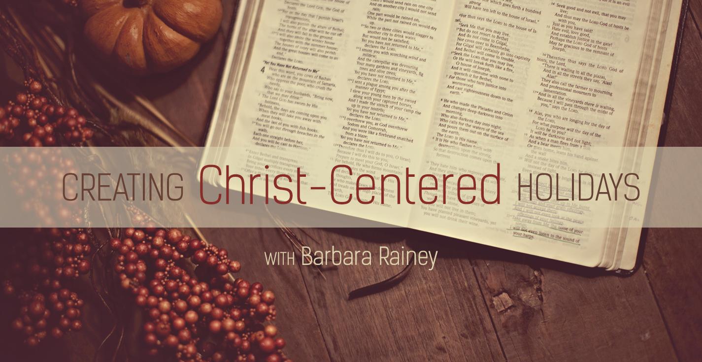 Thumbnail of Focusing on Jesus this Christmas