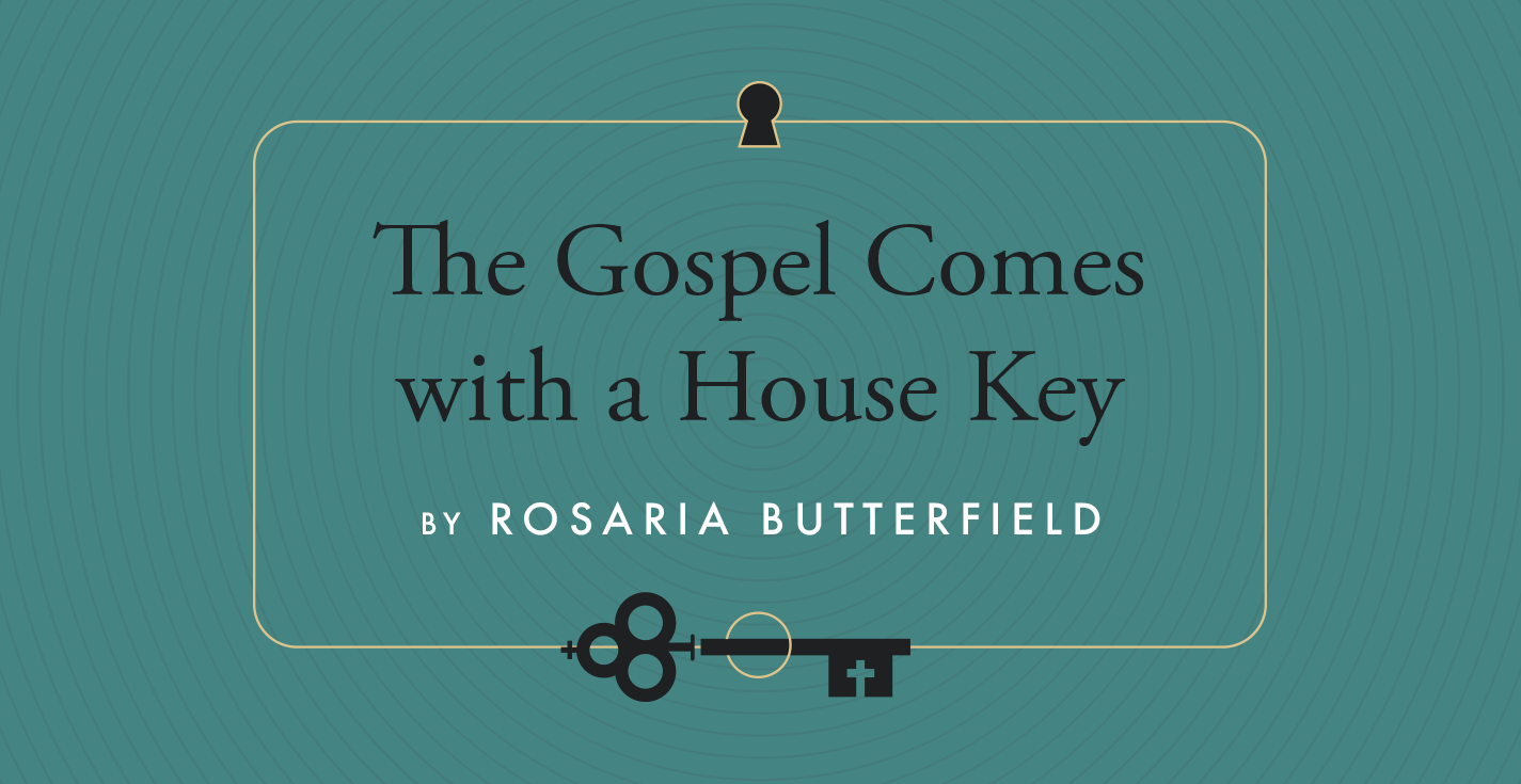 Thumbnail of The Gospel Comes with a House Key with Rosaria Butterfield