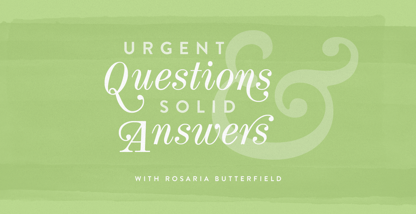 Thumbnail of Urgent Questions and Solid Answers, with Rosaria Butterfield