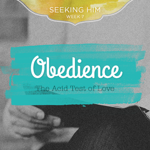 Praying for Obedience