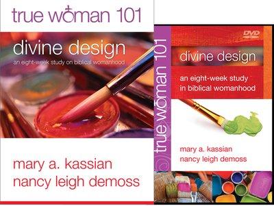 True Woman  Divine Design Book And Dvd Set